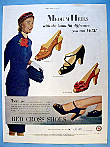 Vintage Ad: 1951 Red Cross Shoes (Image1)