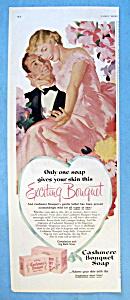 Vintage Ad: 1951 Cashmere Bouquet Soap (Image1)