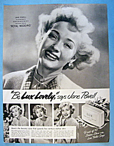 Vintage Ad: 1951 Lux Soap with Jane Powell (Image1)
