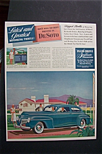 1941 De Soto Cars with Great De Soto Car  (Image1)