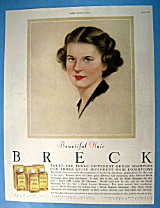 1951 Breck Shampoo with Breck Woman (Image1)