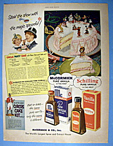 Vintage Ad: 1951 Mc Cormick Pure Vanilla Extract (Image1)