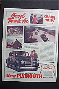 1940 Plymouth Cars with Get a Good Trade  (Image1)