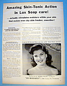 Vintage Ad: 1952 Lux Soap With Debra Paget