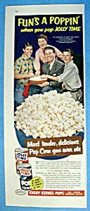 Vintage Ad: 1954 Jolly Time Popcorn w/The Nelson Family (Image1)