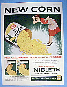 Vintage Ad: 1954 Green Giant Niblets