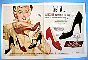 Vintage Ad: 1954 Air Step Shoes (Image1)
