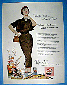 Vintage Ad: 1954 Pepsi Cola (Image1)