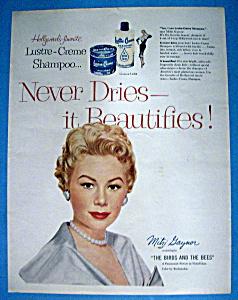 1956 Lustre Creme Shampoo with Mitzi Gaynor (Image1)