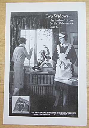 1929 Prudential Insurance with Maid Cleaning  (Image1)