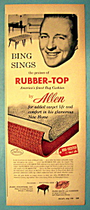 Vintage Ad: 1958 Allen Industries With Bing Crosby