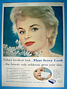 Vintage Ad: 1959 Ivory Soap