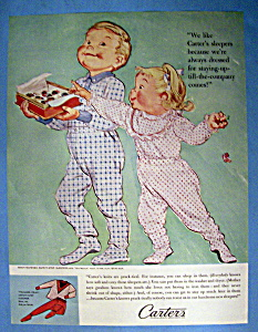 Vintage Ad: 1960 Carter's Sleepers (Image1)