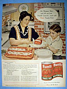 Vintage Ad: 1960 Hunt's Tomato Paste (Image1)