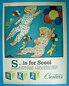Vintage Ad: 1960 Carter's Summer Weight Sleepers (Image1)