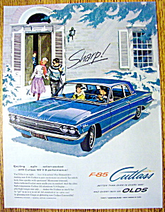 Vintage Ad: 1961 Oldsmobile F-85 Cutlass (Image1)