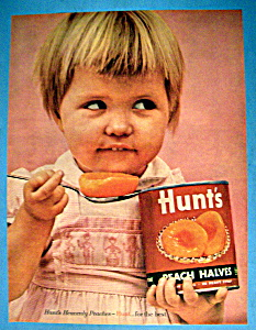 Vintage Ad: 1961 Hunt's Peach Halves