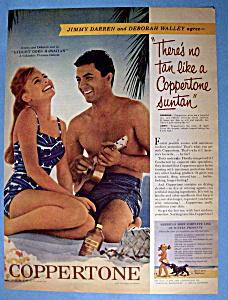 1961 Coppertone with James Darren & Deborah Walley (Image1)