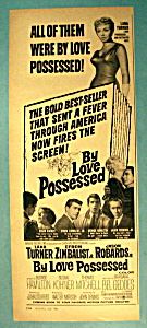 Vintage Ad: 1961 By Love Possessed