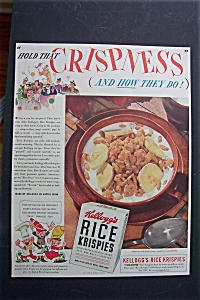 1940 Kellogg's Rice Krispies Cereal w/ the 3 Guys (Image1)