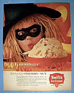 Vintage Ad: 1963 Swift's Banana Cherry Nut Ice Cream