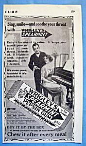 1914 Wrigley's Spearmint Pepsin Gum with Man & Woman (Image1)