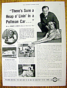 1937 Pullman with Edgar A. Guest (Poet) (Image1)