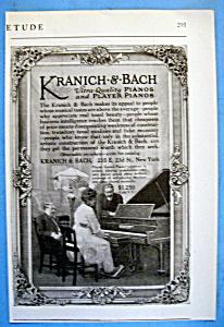 Vintage Ad: 1916 Kranich & Bach Pianos (Image1)