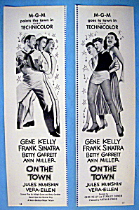 Vintage Ad: 1949 On The Town With Gene Kelly