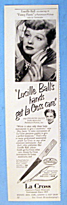 Vintage Ad: 1950 La Cross with Lucille Ball (Image1)