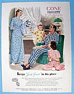 Vintage Ad: 1950 Jack Frost Velvelette Nightwear (Image1)