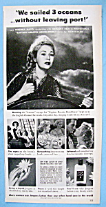 Vintage Ad: 1950 Jergens Lotion With Virginia Mayo