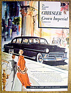 Vintage Ad: 1950 Chrysler Crown Imperial Limousine (Image1)