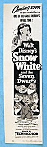 Vintage Ad: 1952 Snow White & The Seven Dwarfs (Image1)