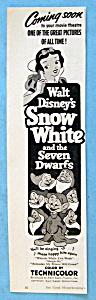 Vintage Ad: 1952 Snow White & The Seven Dwarfs (Image1)