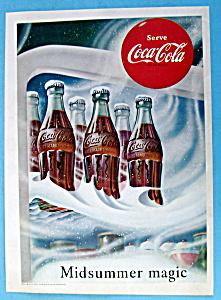 1953 Coca Cola (Coke) w/ 6 Bottles in the Refrigerator (Image1)