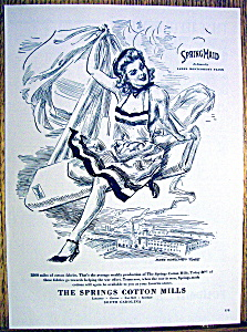 1943 Springmaid with Woman By James Montgomery Flagg (Image1)