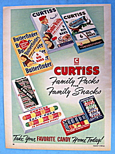 Vintage Ad: 1953 Curtiss Candy Bar Family Packs