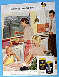 Vintage Ad: 1953 Morton Salt By Douglas Crockwell (Image1)