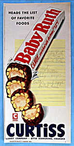 Vintage Ad: 1954 Baby Ruth (Image1)