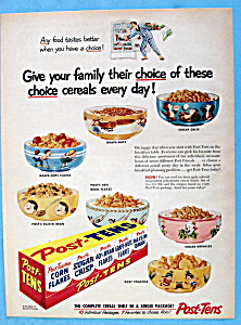 Vintage Ad: 1954 Post Tens (Image1)
