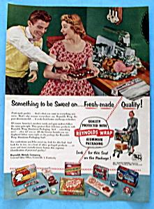 Vintage Ad: 1954 Reynolds Wrap (Image1)