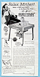 Vintage Ad: 1954 Babee Tenda (Image1)