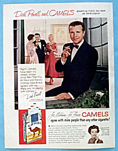 1954 Camel Cigarettes with TV Star Dick Powell (Image1)