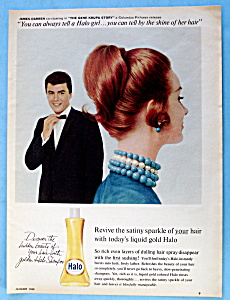 1960 Halo Shampoo With James Darren (Gene Krupa Story)