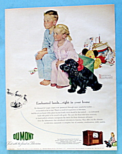 1950 Du Mont Television By Norman Rockwell (Image1)