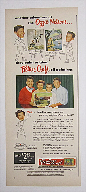1953 Picture Craft with Ozzie Nelson & Family  (Image1)