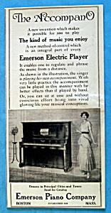 Vintage Ad: 1916 Emerson Piano Company (Image1)
