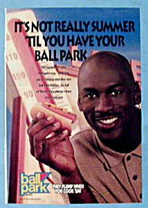 1999 Ball Park Franks With Basketball's Michael Jordan