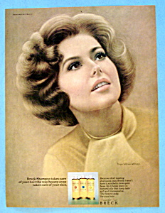 1969 Breck Shampoo w/Brown Haired Woman /Ralph Williams (Image1)